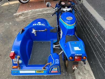Yamaha YSR80 with Sidecar on Iconic Motorbike Auctions