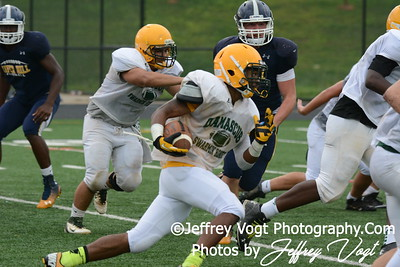 08-22-2014 Damascus HS vs River Hill  HS Varsity Football Scrimmage, Photos by Jeffrey Vogt Photography