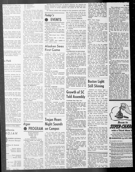 Daily Trojan, Vol. 33, No. 20, October 09, 1941