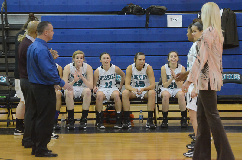 Girls Varsity Basketball January 17 vs Fallston