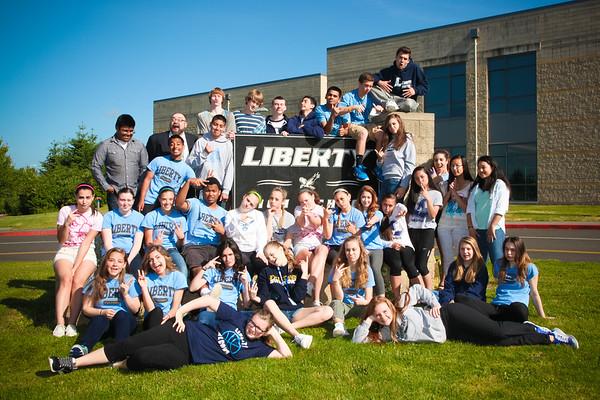 Freshmen leadership 2014