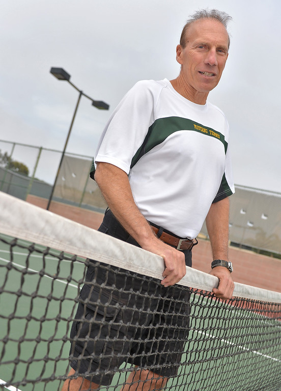 . 0611_SPT_TDB-L-TENNISCOY --- Manhattan Beach, CA -- Mira Costa tennis coach Joe Ciasulli is the 2013 Daily Breeze Coach of the Year. Daily Breeze Photo: Robert Casillas