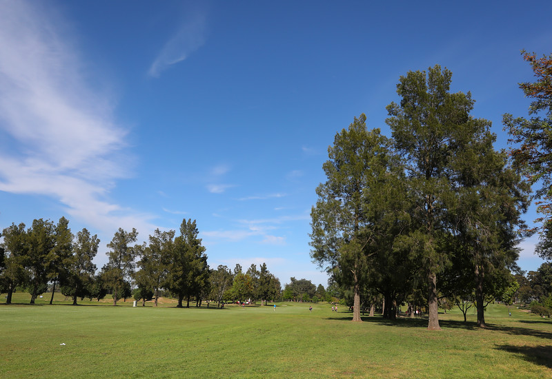 STELLENBOSCH, SOUTH AFRICA - OCTOBER 2: Hole 1 during the held at Stellenbosch Golf Club on October 2, 2018 in Stellenbosch, South Africa. EDITOR'S NOTE: For free editorial use. Not available for sale. No commercial usage. (Photo by Carl Fourie/Sunshine Tour)