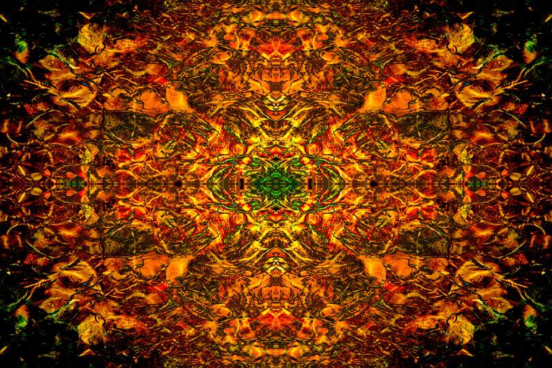 Swirls of Light Mandala