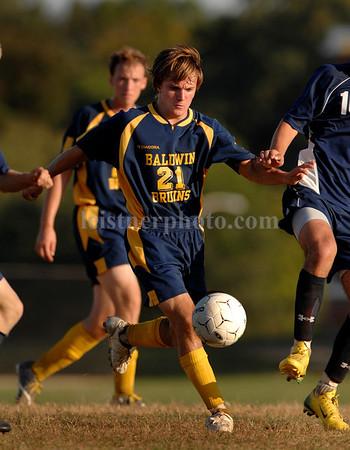 2007-09-25 Baldwin HS Boys Soccer vs Oceanside, 0-3