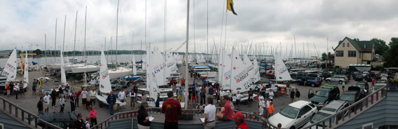 Panoramic photo of SSA skippers meeting