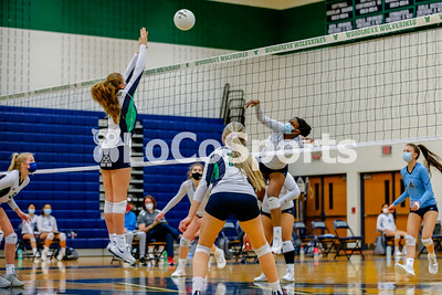 Volleyball: Stone Bridge 3, Woodgrove 0 by Katey Jackson on March 2, 2021