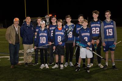 Boys Lacrosse Rising 8th Graders