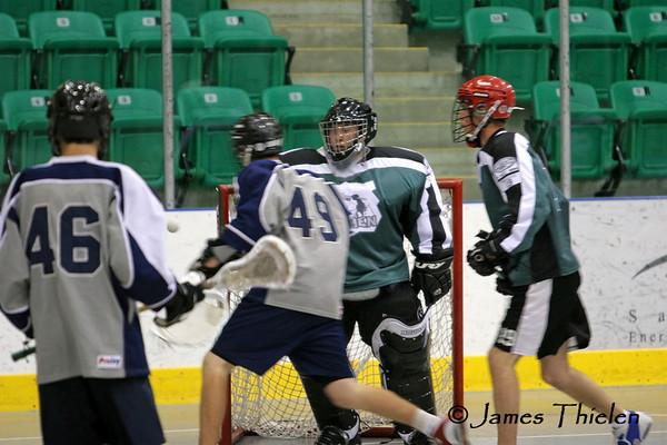 Okotoks Icemen vs Calgary Mavericks, Playoff Game 1 June 25, 2007