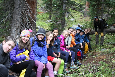 Team Savage: Middle School Outdoor Ed Fall 2018