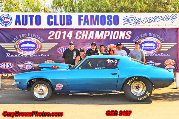 Ed Carey  1  D/Gas Heritage Points Champion 2014