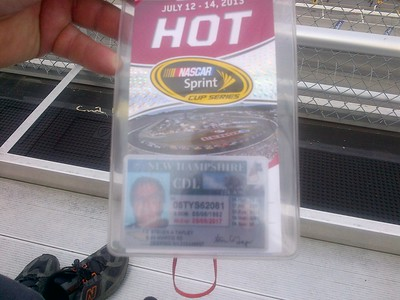 NASCAR Cup series @ NHMS 7-13-2013