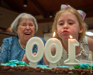 alberta dolan's 100th birthday