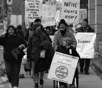 Anti-Uranium Mining March & Rally