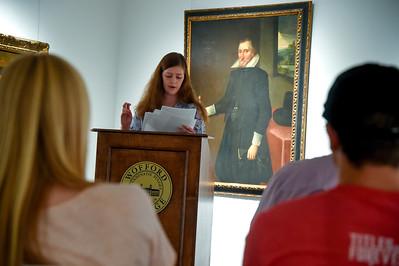 Art History Senior Capstone Talks