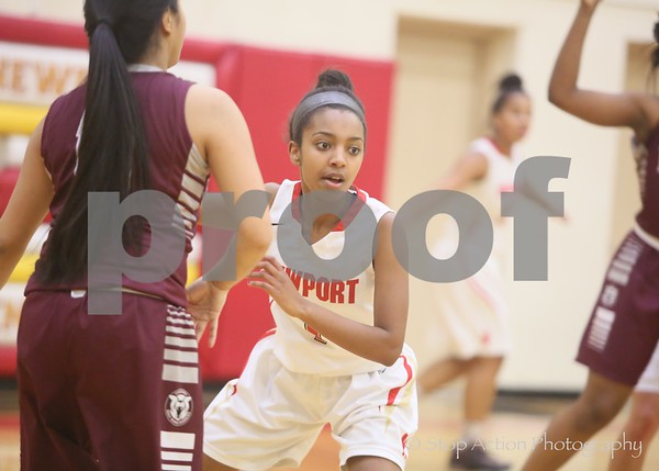 2015-12-07 Newport Girls Basketball vs Holy Names