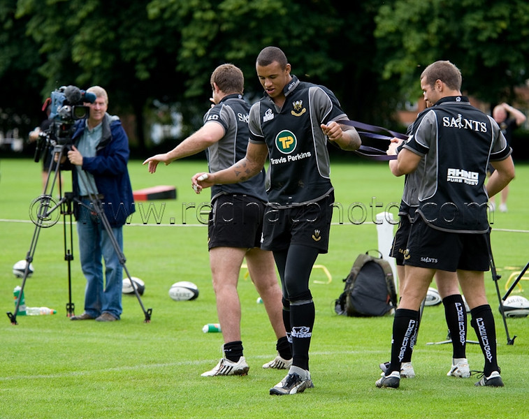 Northampton Saints Pre-Season Training, Rugby School, 5 August 2009