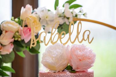 Isabella Christening