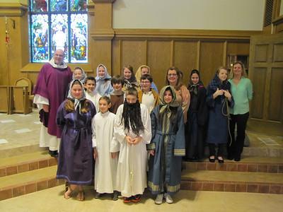 Family Liturgy April 6, 2014