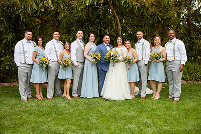 3. Wedding Party and Family Portraits