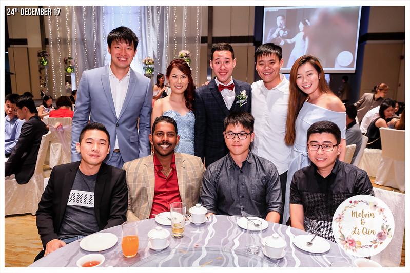 Wedding of Melvin & Li Qin | © www.SRSLYPhotobooth.sg