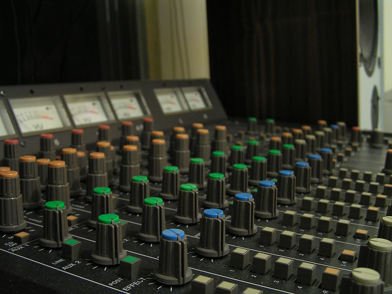 The mixer.  Keyword: Photography