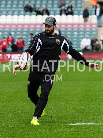 Leicester Tigers vs Northampton Saints, Premiership Rugby Cup, Welford Road, 12 October 2019