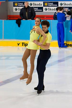 MČR 2008 - Sportovní dvojice - junioři