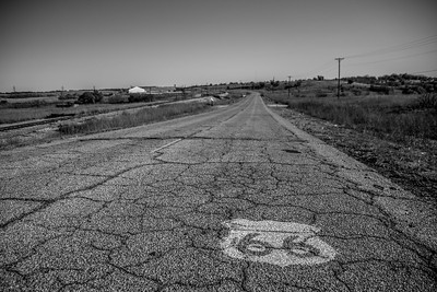 Route 66 from Pacific, MO to Sapulpa, OK