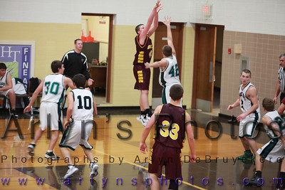 Boys BB vs Maple Lake Dec 2010