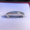 1.20ctw French Cut Eternity Band 2
