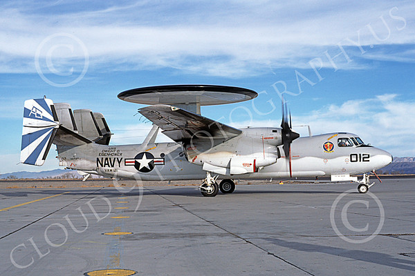 US Navy VAW-121 BLUE TAILS Military Airplane Pictures