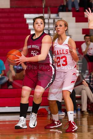 Oak Ridge vs Halls