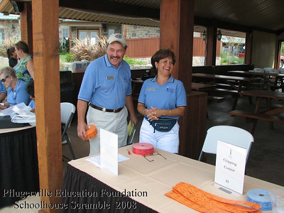 Pflugerville Education Foundation 2008 Golf Tournament
