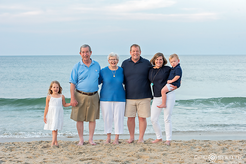 Nags Head Family Vacation, Family Portraits, Epic Shutter Photography, Outer Banks Photographers, Cape Hatteras Photographers, OBX Photographers, Hatteras Island Photographers, Family Beach Photos, Children's Beach Portraits