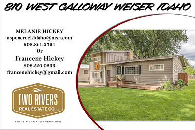 810 West Galloway Weiser Idaho - Melanie Hickey