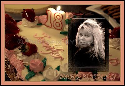 An 18th Birthday Celebration for Jennifer