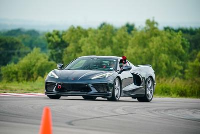 11 Gray C8 Corvette