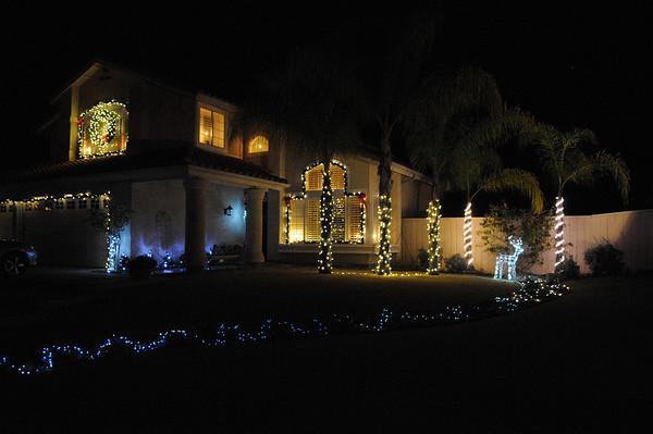 Christmas Eve Lights 2011