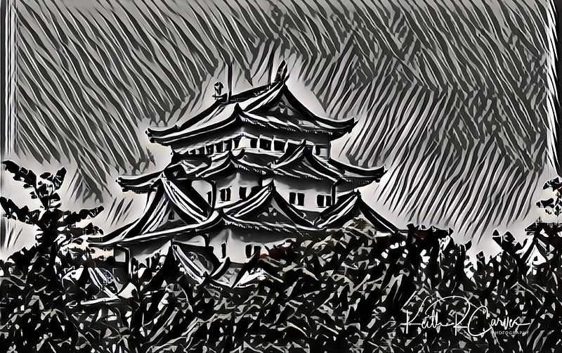 Nagoya Castle, Japan (photographed in 1970)