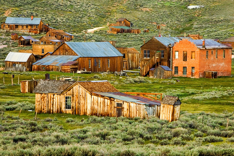 the town of bodie, ca