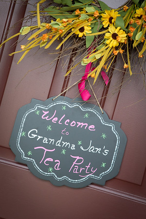 Grandma's Tea Party