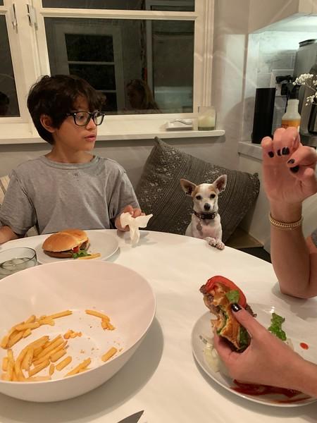2019.11.07 Burger dinner