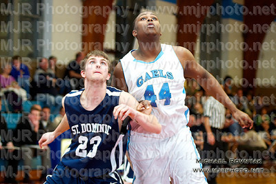 St Mary's VS St Dominic's, Boys Varsity Basketball 01.11.12