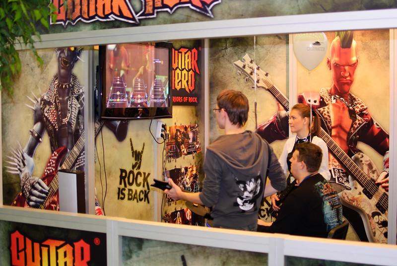 Guitar Hero: Warriors of Rock at Igromir 2010