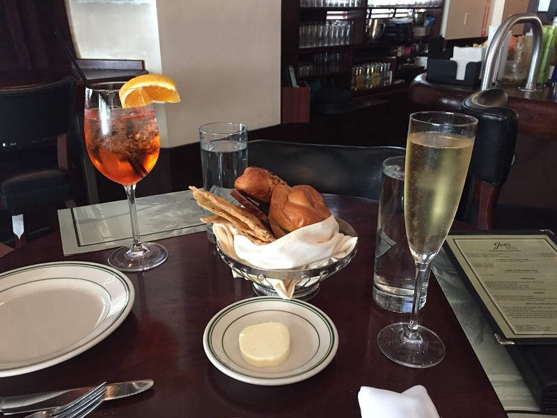 Bread, Aperol spritz, Louis Roederer Brut Premier champagne
