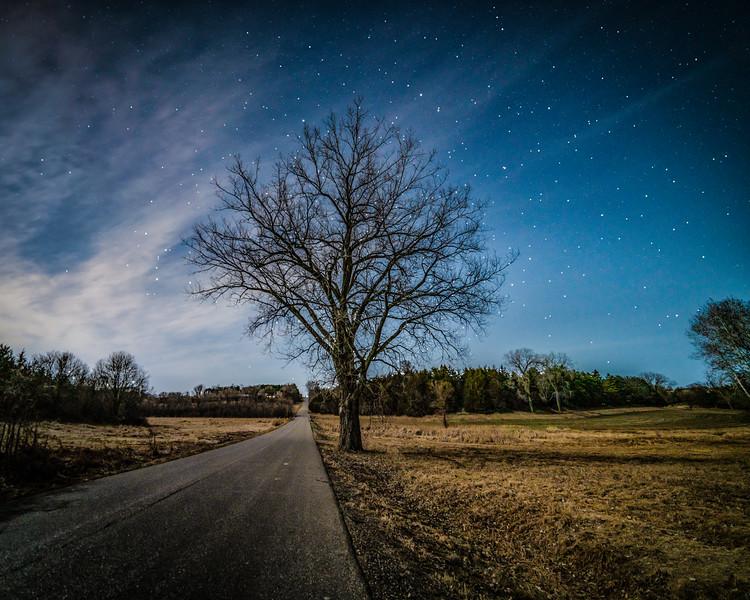 Starry night in Grant