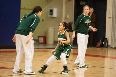Trinity vs Red Land Girls Basketball