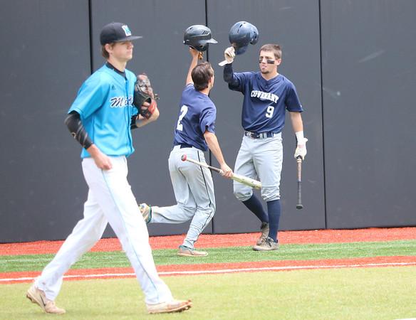 Miller versus Covenant baseball VIC title game