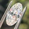 1.64ct Antique Moval Cut Diamond GIA G VS1 0
